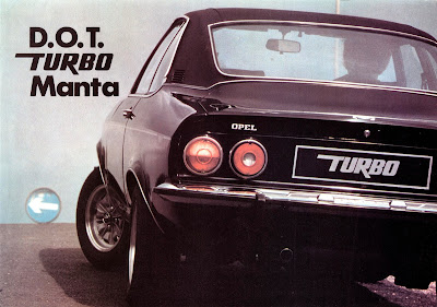 Opel Manta Broadspeed Turbo Sales Brochure Page 1