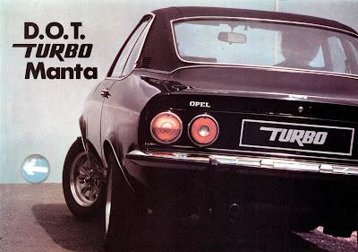 Opel Manta Broadspeed Turbo Sales Brochure Page 1