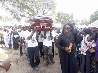 Image result for Taraba lawmaker Hosea Ibi buried amidst calls for end to open grazing