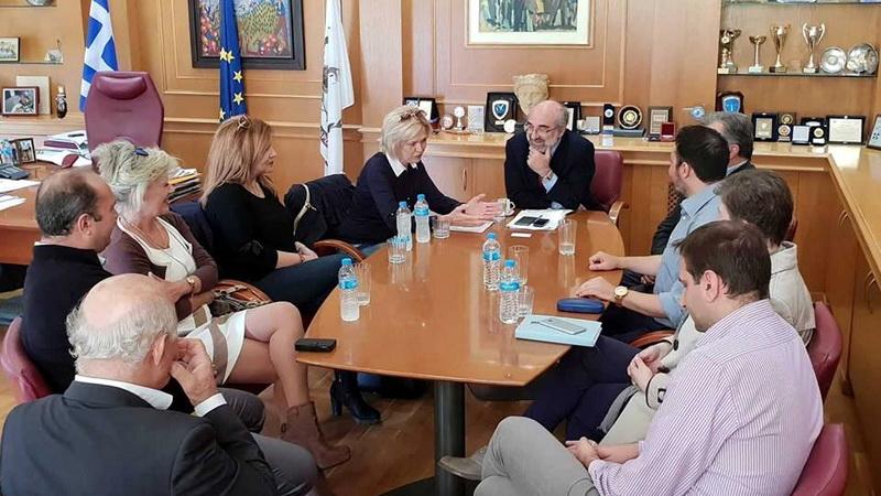 Συνάντηση του Δημάρχου Αλεξανδρούπολης με τον Διευθυντή των Παιδικών Χωριών SOS