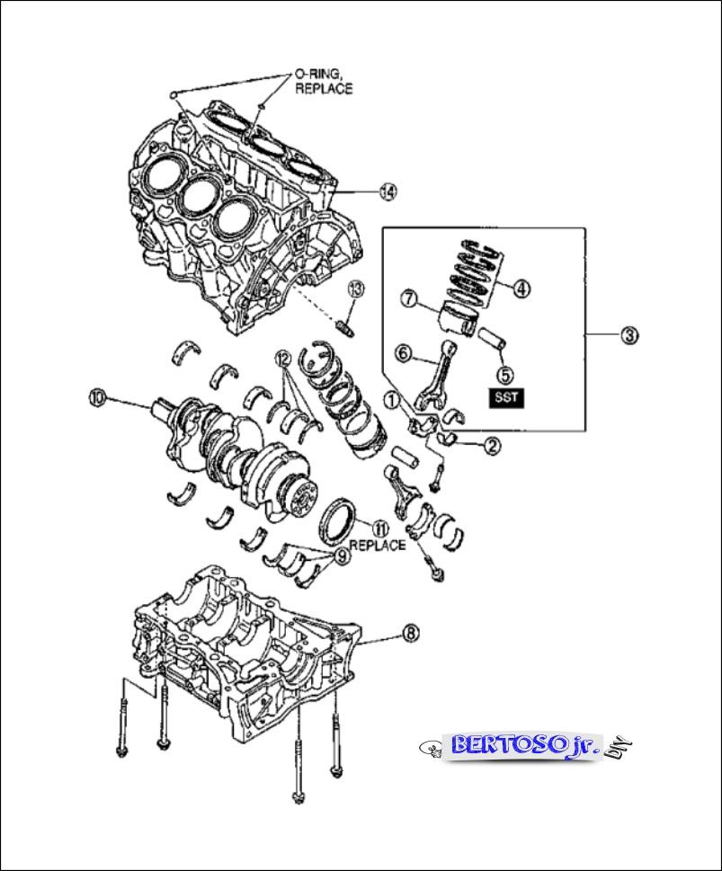 Manual de manutenção MAZDA MX3 ~ BertosoJr