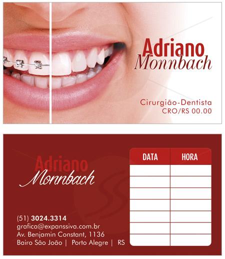 Cartões de Visita Criativos para Dentistas