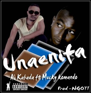 Download Audio | Ali Kibada ft Mucky Komando - Unaenifaa