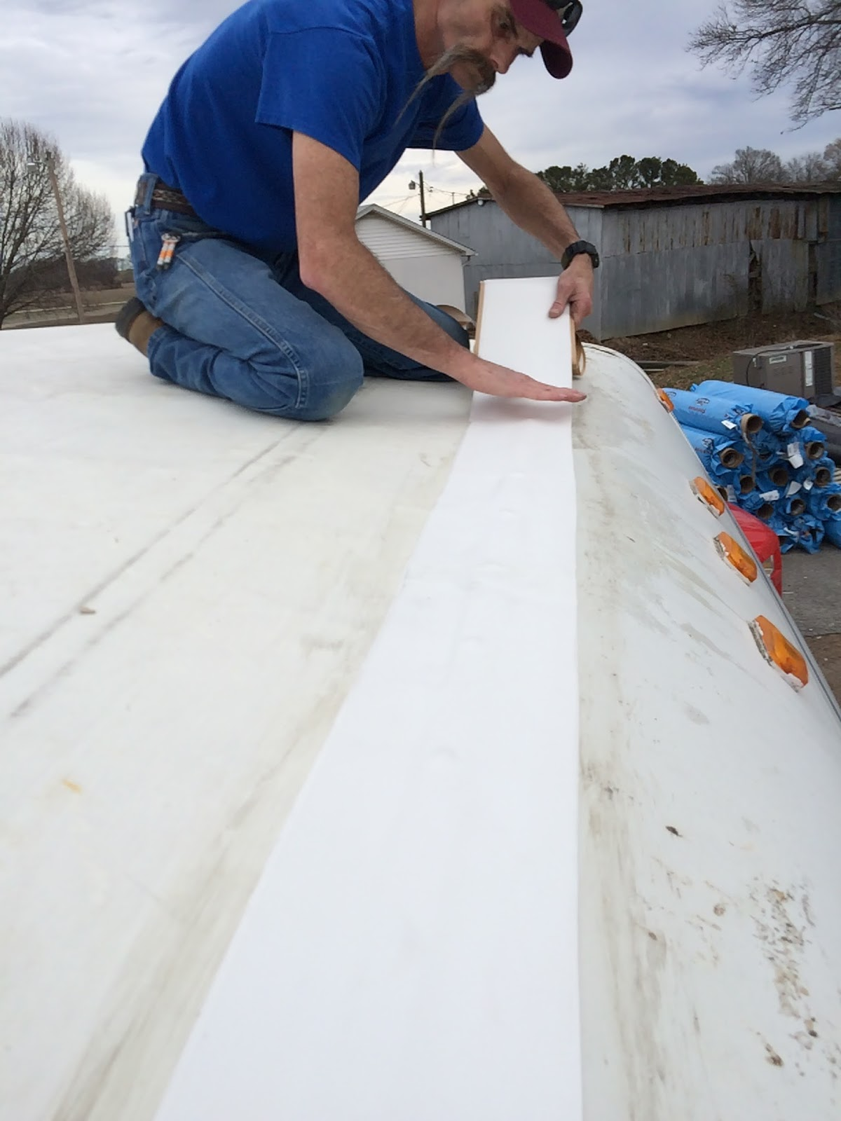 Rv Roof Top Rv Roof Top Epdm Rubber Roofing