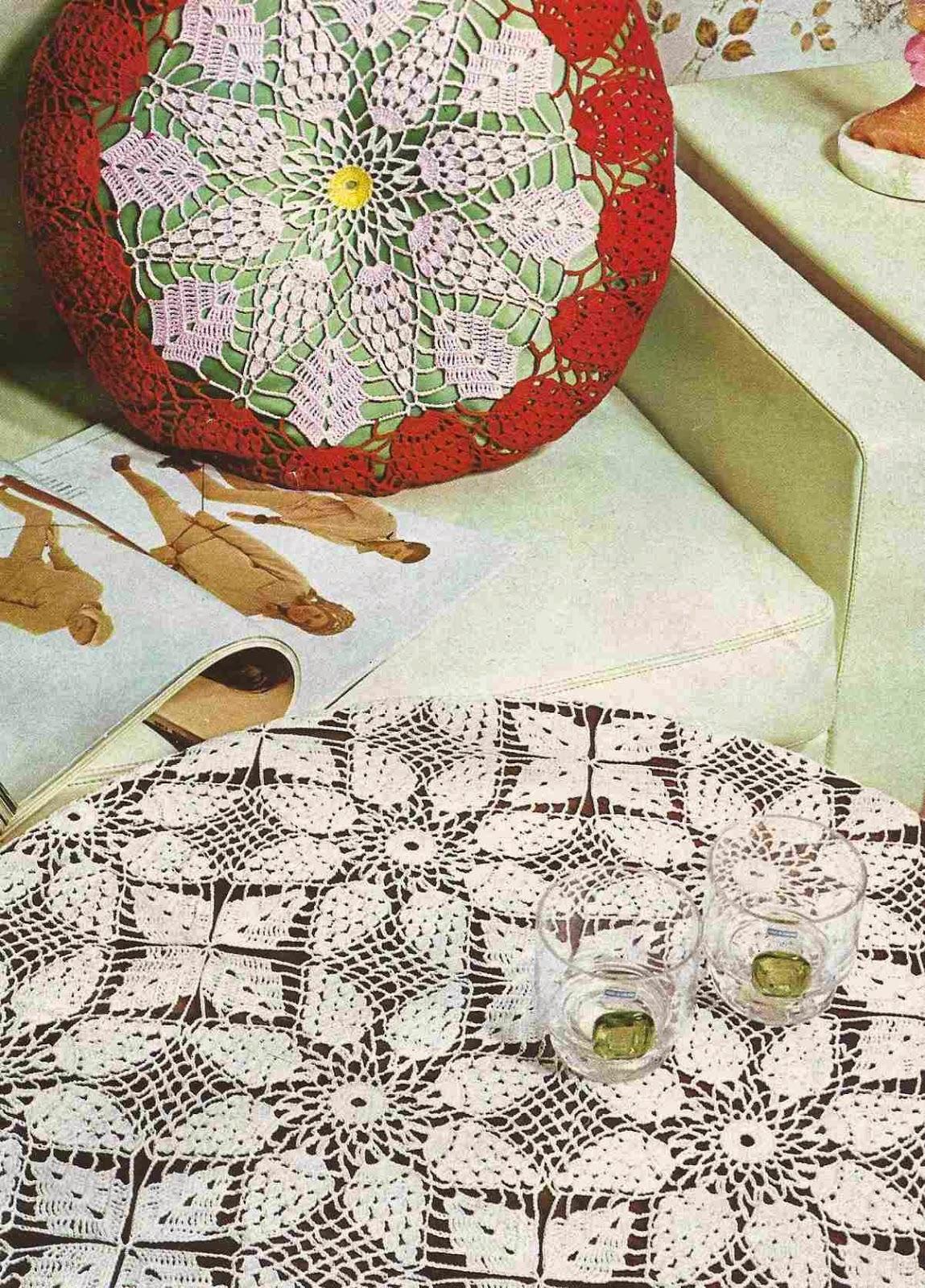 Cojín a Crochet