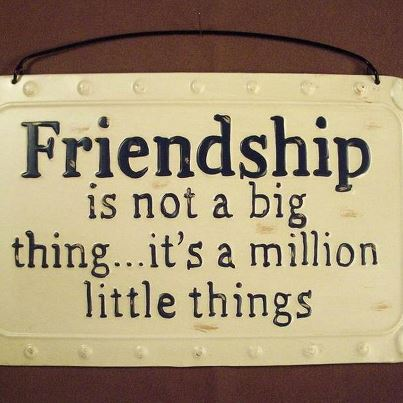 Never Give Up: Inspirational Quotes About Friendship - 1