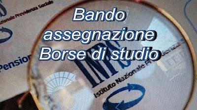 Bando INPS assegna 6040 Borse di studio (scrivisullapaginadeituoisogni.blogspot.com)