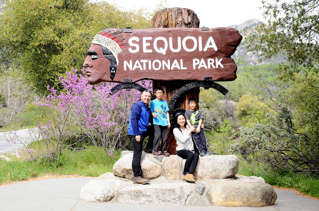Traveling to Sequoia National Park