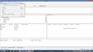 Use FileZilla - FTP2