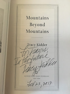 Mountains Beyond Mountains by Tracy Kidder Autograph