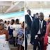 Bayelsa Bride Rocks Cleavage Revealing Gown For Her Wedding