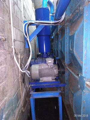 SEWAGE TREATMENT PLANT BLOWER