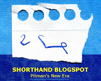 Shorthand Blogspot - Long Live Pitman's Shorthand