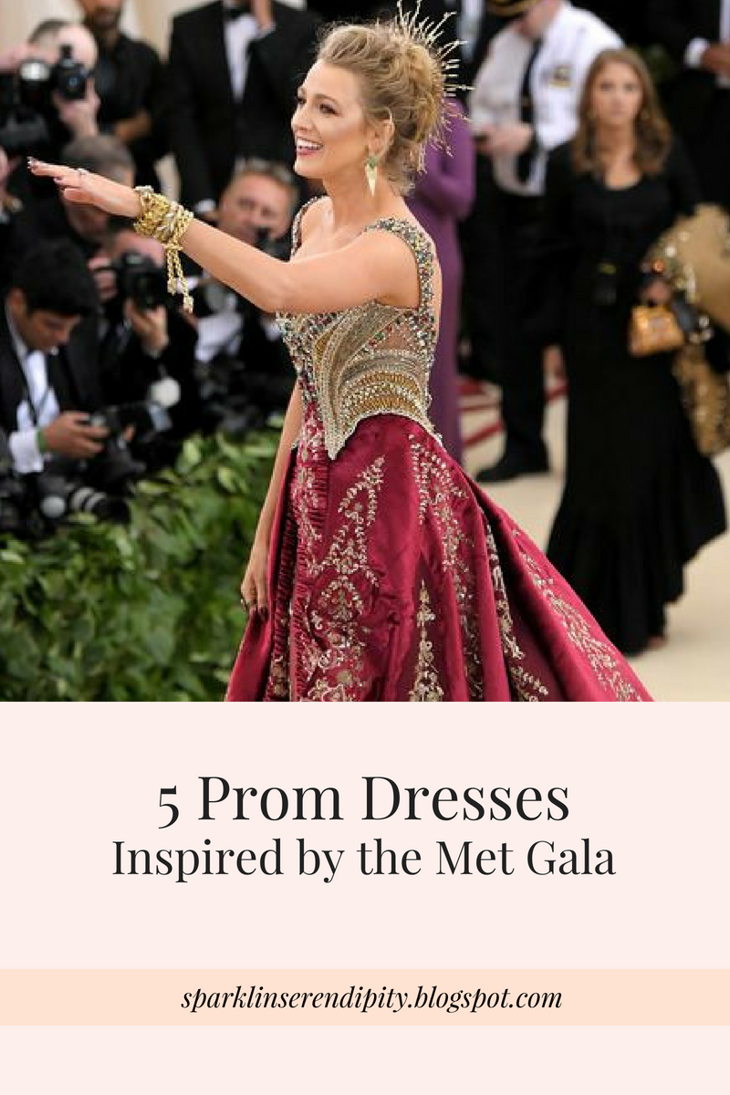 5 Prom Dresses Inspired By The Met Gala