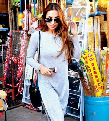 Malaika-Arora-goes-shopping-for-household-items-Andhratalkies