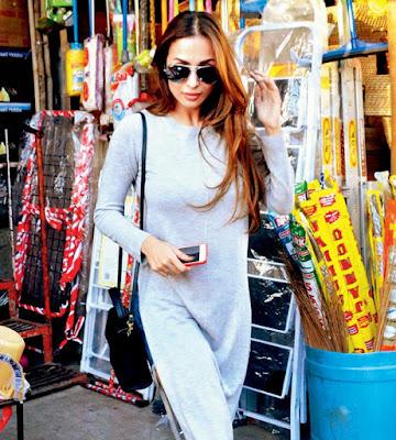 Malaika-Arora-goes-shopping-for-household-items-Andhratalkies
