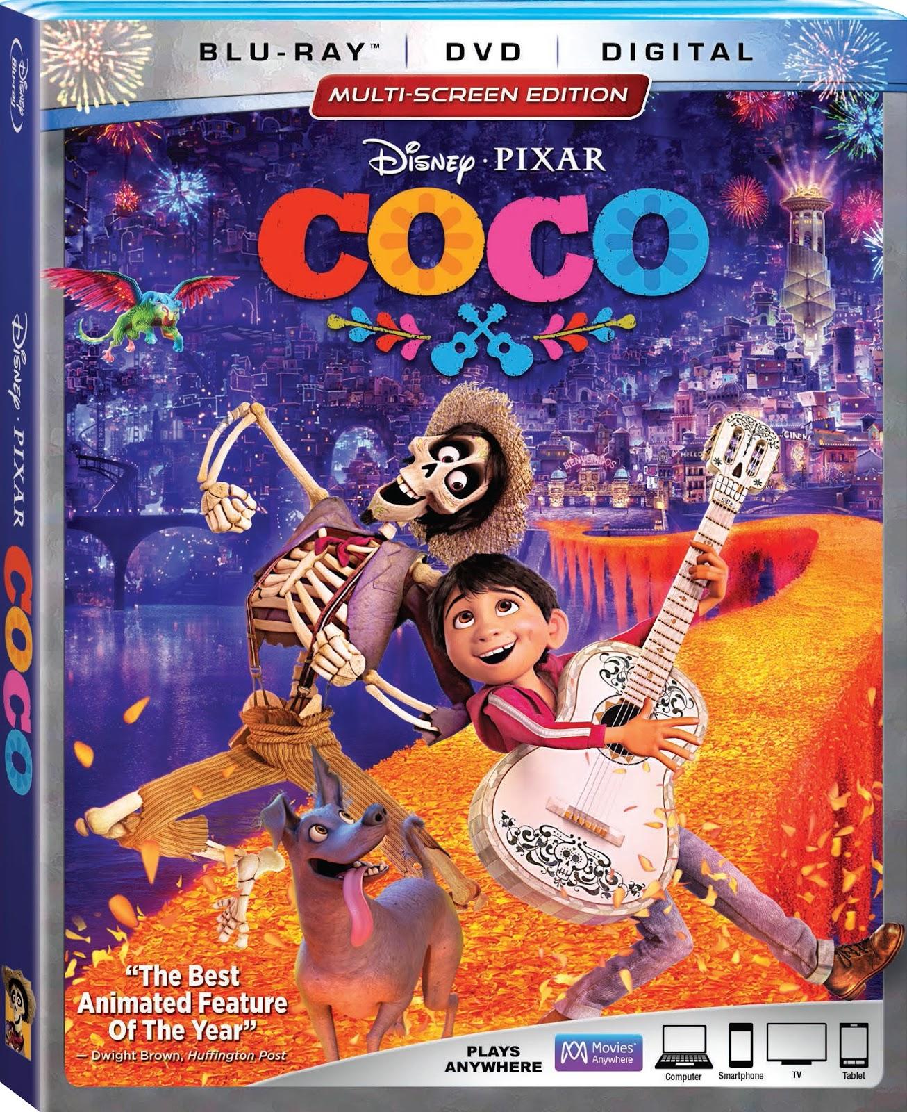 Coco Blu Ray Box Art