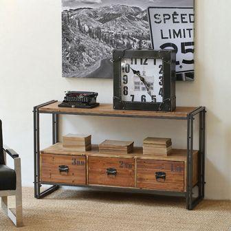 Mueble aparador estilo industrial