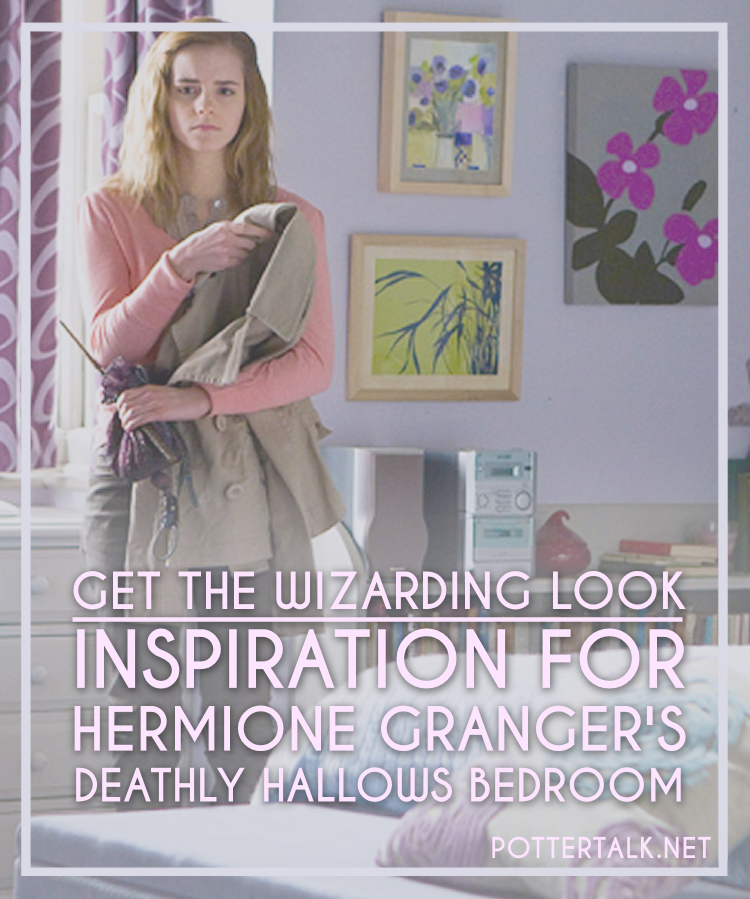 Hermione Granger Bedroom Inspiration