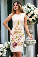 rochie-effect-din-brocard-bej-cu-broderie-florala