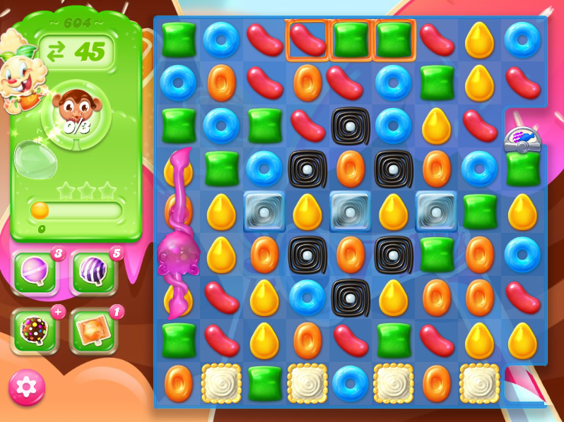 Candy Crush Jelly Saga level 604