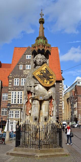 estátua de Rolando, Bremen, Alemanha