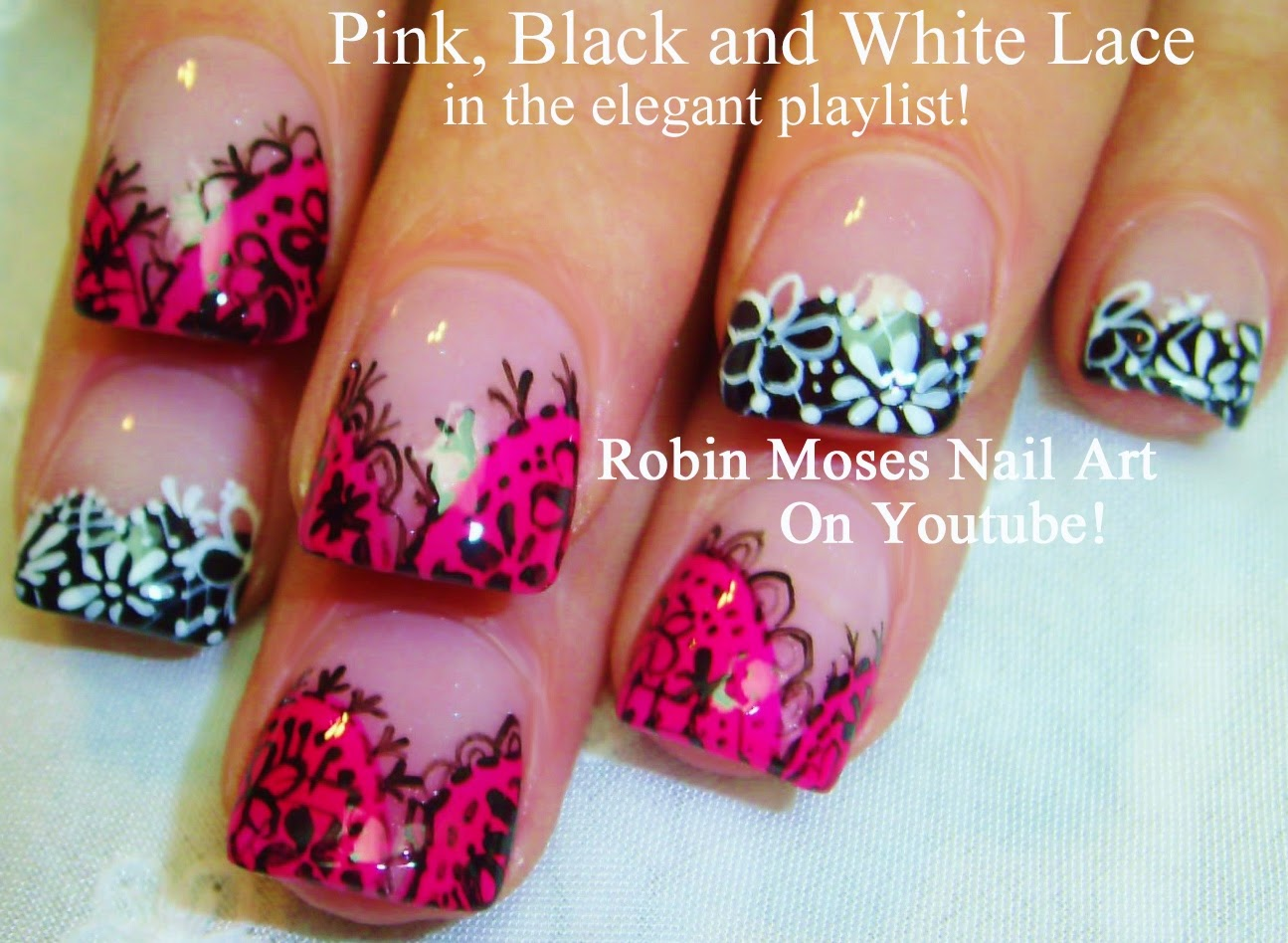 Nail Art By Robin Moses Monster Energy Drink Nails Monster Nails