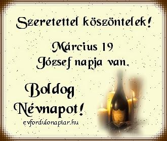 Március 19 - József névnap