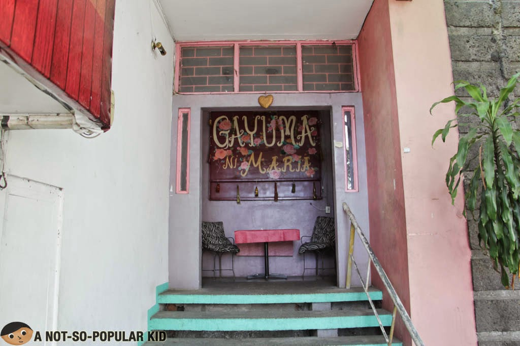 Gayuma ni Maria restaurant along Maginhawa Street of Quezon City