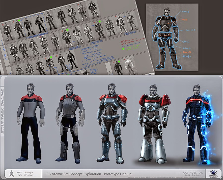 Captains Blog Jose Saramago Star Trek Online Concept Art Ryan