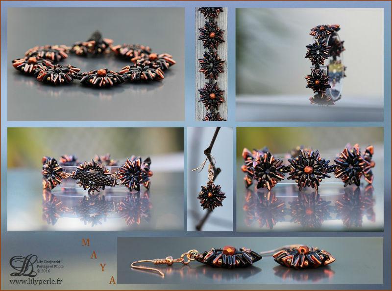 Bracelet Maya par Lilyperle