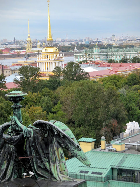 Views of St. Petersburg and the Admirality from St. Isaac's Cathedral