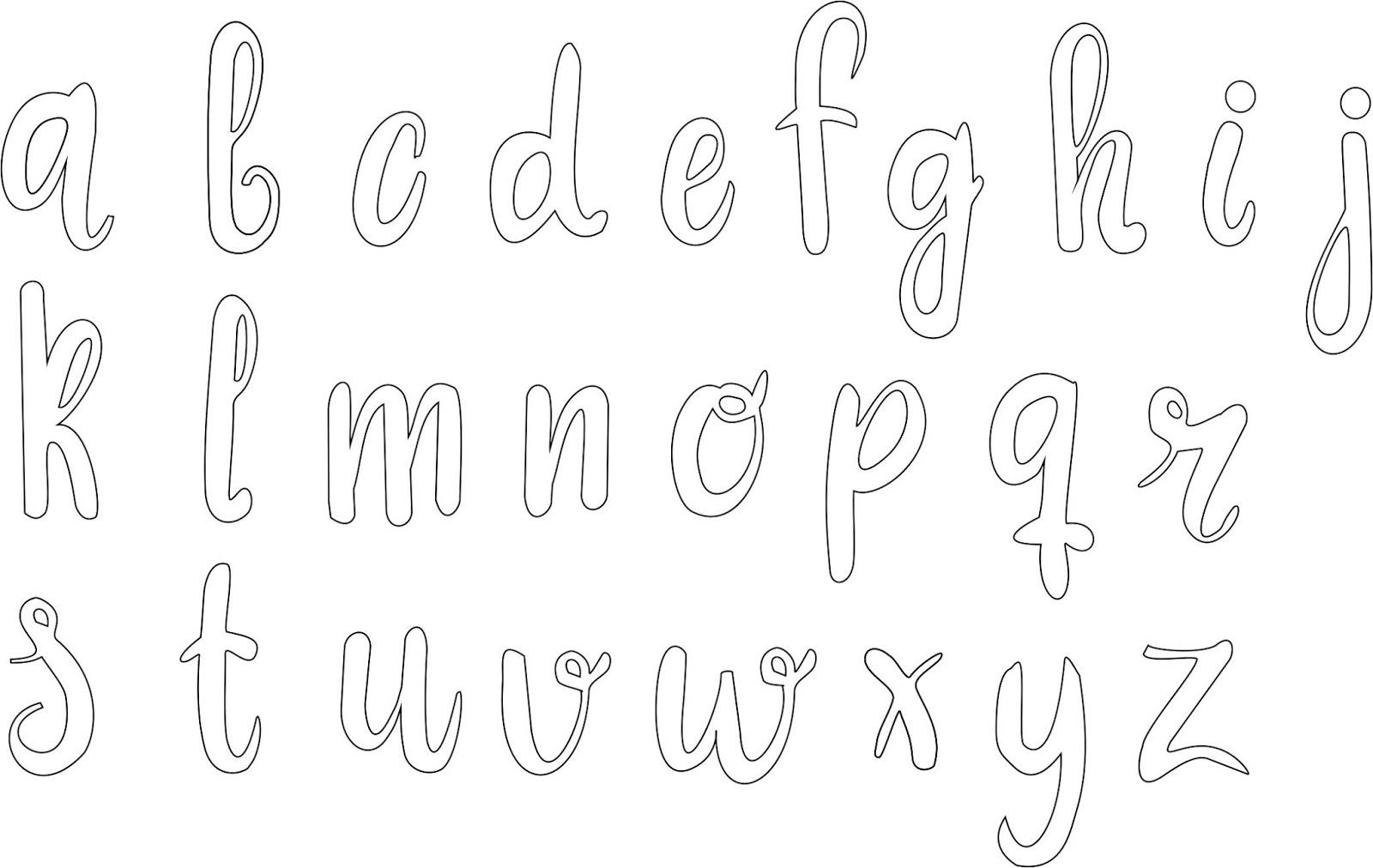 Bonitas Patrones De Letras Para Bordar | www.imagenesmy.com