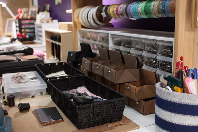 紙樣 手工品牌創作過程- 工作中