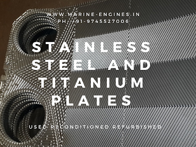 Stainless Steel, titanium, used, second hand, refurbished, reconditioned, plates, plate heat exchanger, PHE
