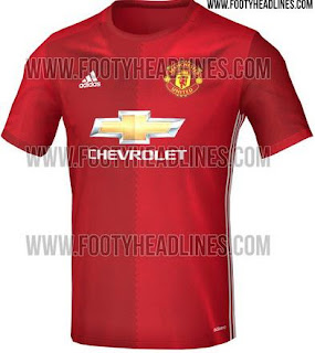Jersey Manchester United 2016 - 2017 Home Kandang