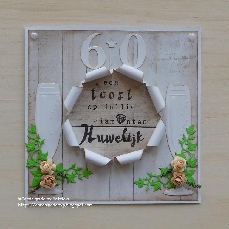 Cards Made By P Diamanten Huwelijk