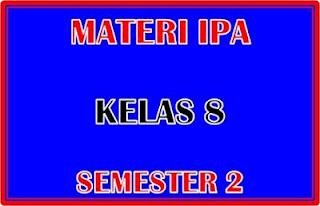 Materi IPA Kelas 8 Semester 2 Beserta Tujuan Pembelajarannya