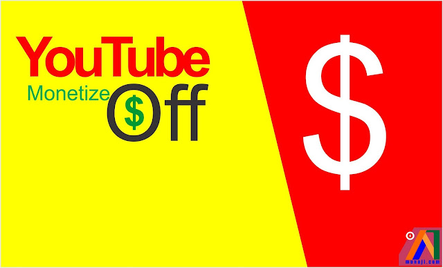 Channel Youtube tidak bisa monetisasi