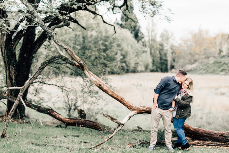 Dreamy Fall Engagement Photography by Something Minted