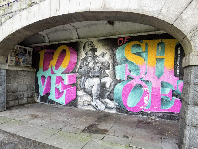 Why Visit Aberdeen: street art in Union Terrace Gardens