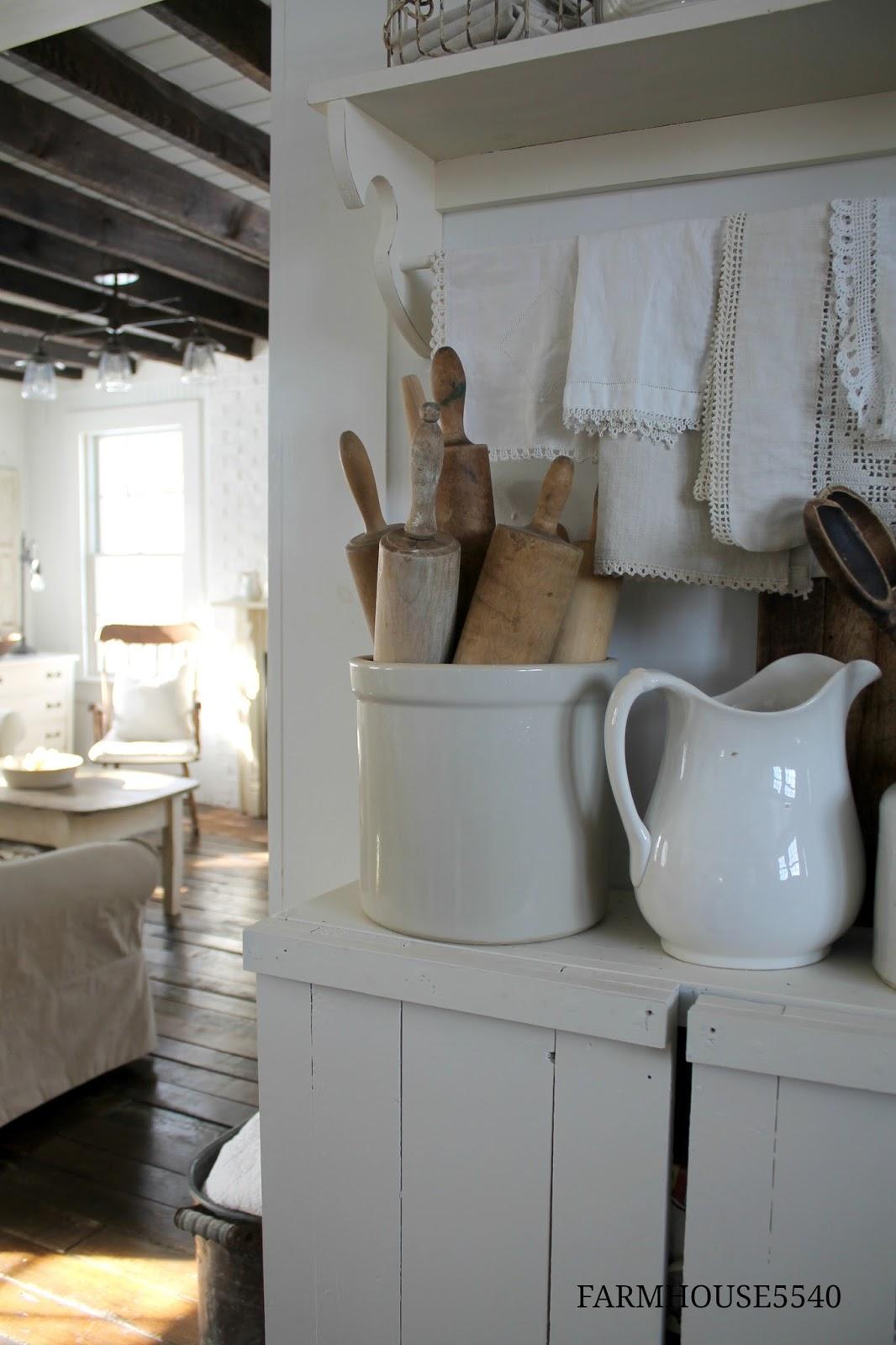FARMHOUSE 5540 Weekly Inspiration Our Farmhouse Kitchen