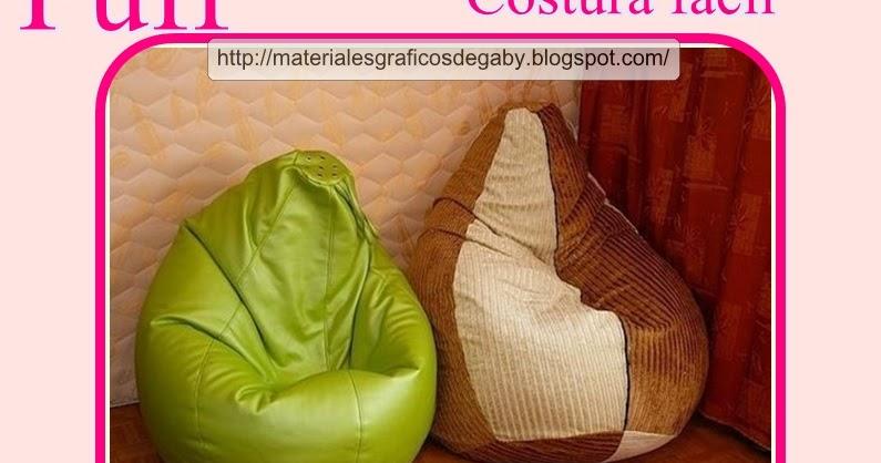 Materiales gr ficos gaby costura f cil puff decoraci n for Decoracion del hogar facil