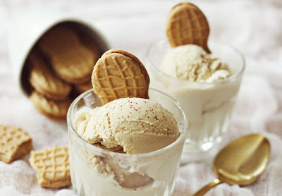 Trang trí kem bơ đậu phộng