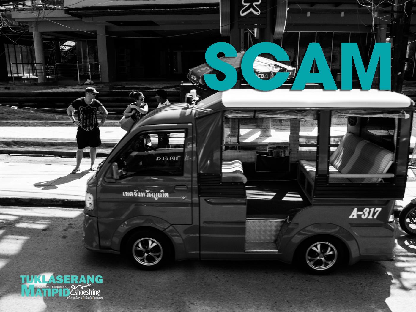 Tuktuk scam