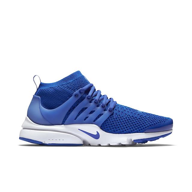 Nike Air Presto Flyknit azul preço
