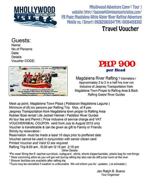 Whitewater Rafting and Water Tubing Adventure in Magdalena Laguna