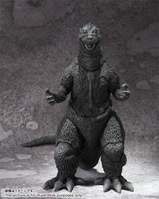 Godzilla della Bandai per la linea SH MonsterArts