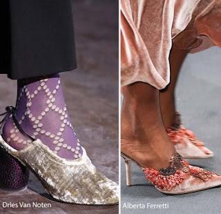 tendencia zapatos terciopelo 2016