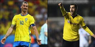 Manchester United Segera Dapatkan Ibrahimovic dan Mkhitaryan